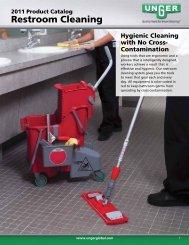Restroom Cleaning - Unger