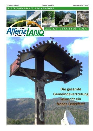 Gemeindezeitung 1/2011 - Gemeinde Aflenz Land