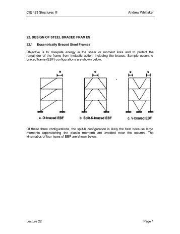 Shaking table tests on seismic response of steel braced frames with ...