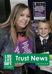 Trust News - Suzy Lamplugh Trust