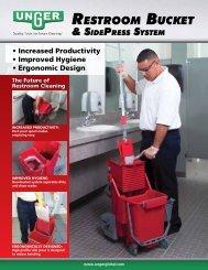RestRoom Bucket & sidePRess system ts - Unger