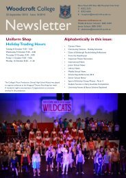 Careers News - Woodcroft College