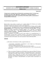 Clicca qui - Società Italiana Chemioterapia