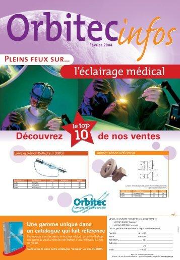 Lampes médicales - ORBITEC