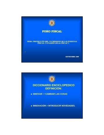 227-PF PATRIMONIAL FISCAL 2009 [Modo de ... - Interejecutivos