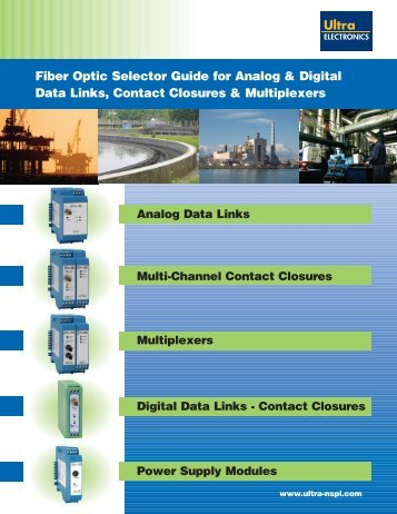 Digital Data Links Datasheet - SRP Control Systems