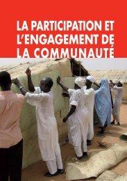 Chapitre 3 La participation et l'engagement de la communauté