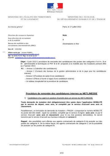 12001958-Instructions candidatures postes cat A A+ B ... - SUP-Equip