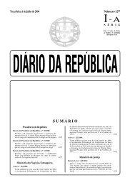 SUMÁRIO - Diário da República Electrónico