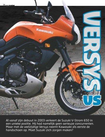 Download de volledige vergelijktest tegen de Suzuki V-Strom 650