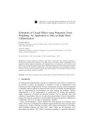 Estimation of Causal Effects using Propensity Score Weighting: An ...