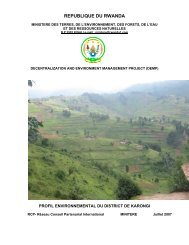 Rapport PED Karongi version définitive. - World Environment Day