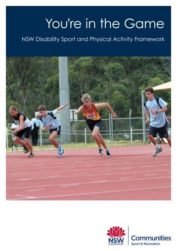 You're in the Game - NSW Sport and Recreation
