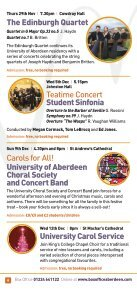 aberdeen music 2012 - University of Aberdeen - Page 6