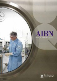 AIBN AR08.indd - Australian Institute for Bioengineering and ...