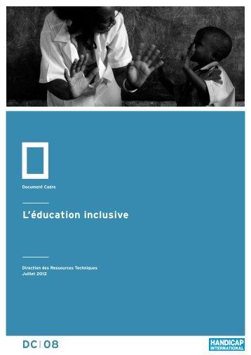 L'éducation inclusive - Hiproweb.org