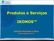Produtos e Serviços IKONOS - INPE-DGI