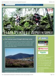 Team Penalty Adventure_ Tiimi treenaa nousua ... - Arwc2009.com