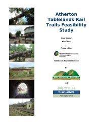 Atherton Tablelands Rail Trails Feasibility Study