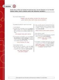 Scheda 4: Il nome - Loescher Editore