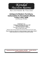 Antique & Modern Furniture, Collectables ... - 1818 Auctioneers