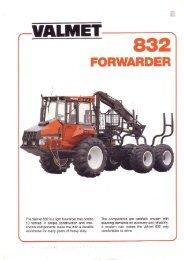 Valmet 832 Forwarder
