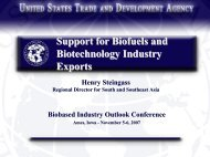 Henry Steingass - Bioeconomy Conference 2009