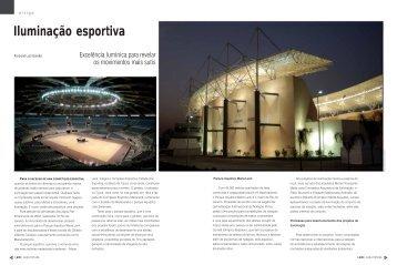 Iluminação esportiva - Lume Arquitetura
