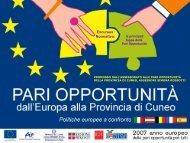 Excursus normativo: le principali tappe delle pari opportunità