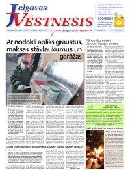 2012.gada 12.janvāris Nr.2(238) - Jelgavas Vēstnesis