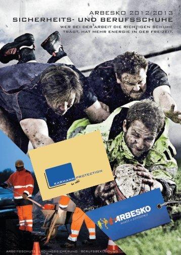 Arbesko Gesamtkatalog 2012/2013 - Karmann Protection