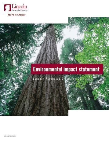 Environmental Policy Statement - Lincoln Financial Group