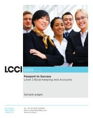 Passport to Success Level 2 Book-keeping and Accounts Sample ...