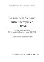 La zoothérapie, une autre thérapie en EHPAD - Entrepatients