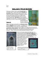Islamic Tile Boxes Islamic Tile Boxes