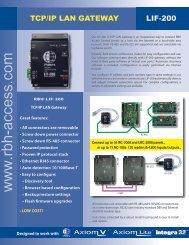 RBH LIF200 v2006.pdf - Zone Technology