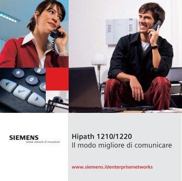 Scarica depliant HiPath 1220 - Siltel