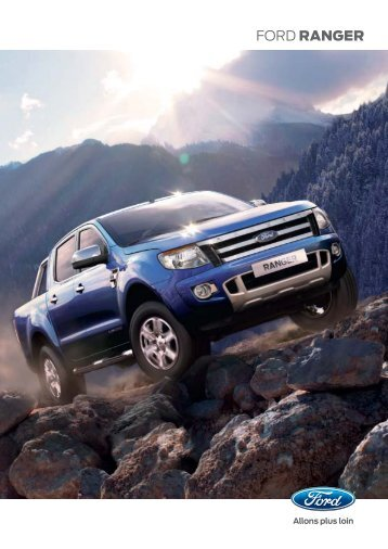 FORD RANGER - Ford Blanchard Automobiles