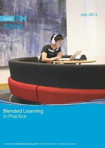 Blended Learning in Practice - University of Hertfordshire