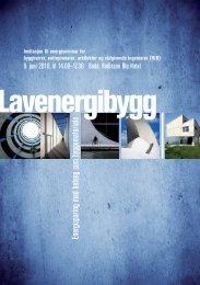 Lavenergiseminar i Bodø - Fabeko - Bygg uten grenser