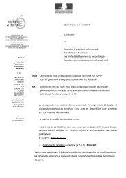 CIRCULAIRE DISPONIBILITE 2011-2012 - Lycée Georges Brassens