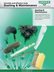 Dusting & Maintenance - Unger