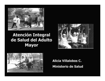 Atención Integral de Salud del Adulto Mayor - Cepal