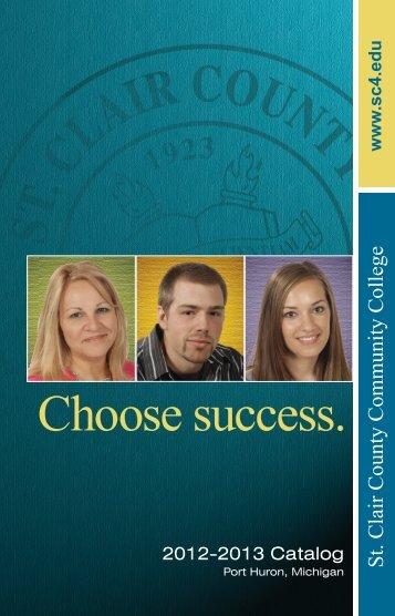 2012-2013 Catalog - St. Clair County Community College