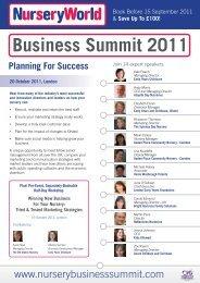Business Summit 2011 - BASPCAN