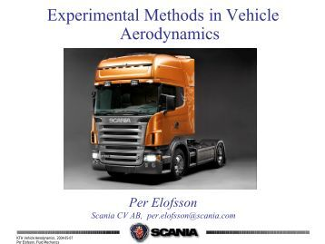 methods of evaluation of vehicle aerodynamics Aerodynamic add on device at rear portion of vehicle   evaluating the lift  the  vehicle aerodynamic flow process is fall into three types (i) flow of air around.
