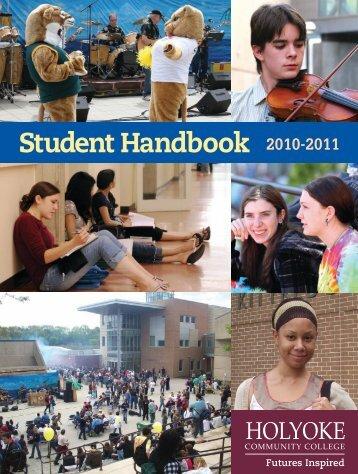 Student Handbook 2010-2011 - Holyoke Community College