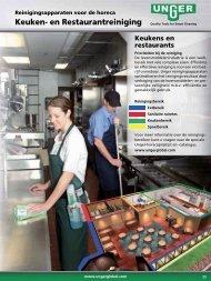 Keuken- en Restaurantreiniging - Unger