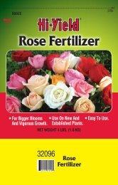 Rose Fertilizer - Fertilome