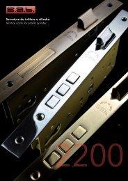 Serrature da infilare a cilindro Mortice Locks for profile cylinder